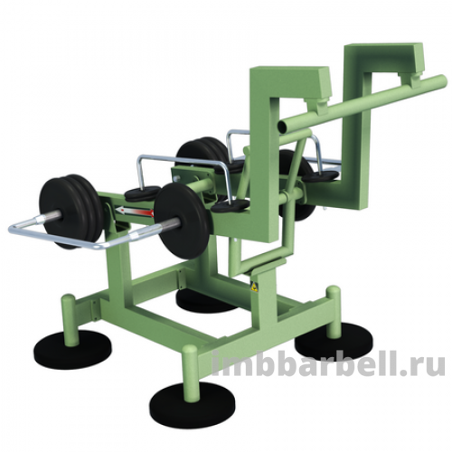 Приседание STREET BARBELL LIGHT